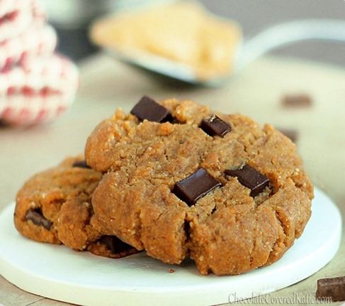 peanut butter gingerbread cookies