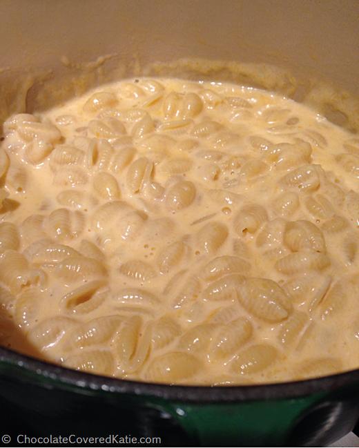 Greek Yogurt Macaroni & Cheese