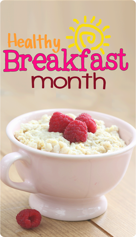 Healthy Breakfast Month - brand new recipes to get your January off to a healthy start