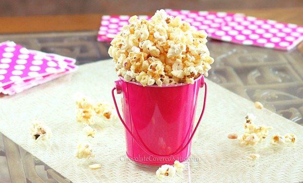healthy caramel corn