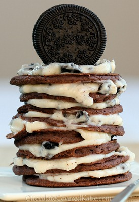 oreo cookie pancakes