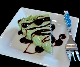 healthy grasshopper pie