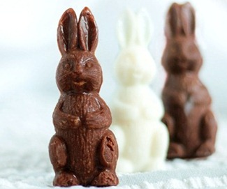 vegan chocolate bunnies