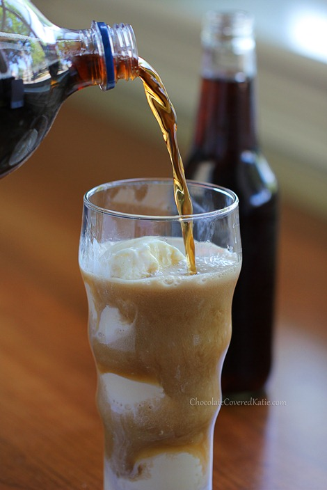 Homemade Cream Soda - much healthier than canned soda, and you control the amount of sugar.