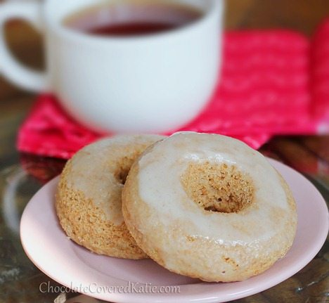 Homemade {Healthy} Krispy Kreme Doughnuts