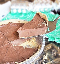 healthy chocolate pie