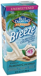 almond breeze coconut milk
