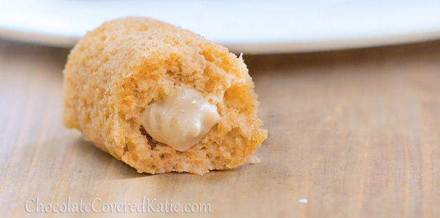 Homemade & Healthy Twinkies