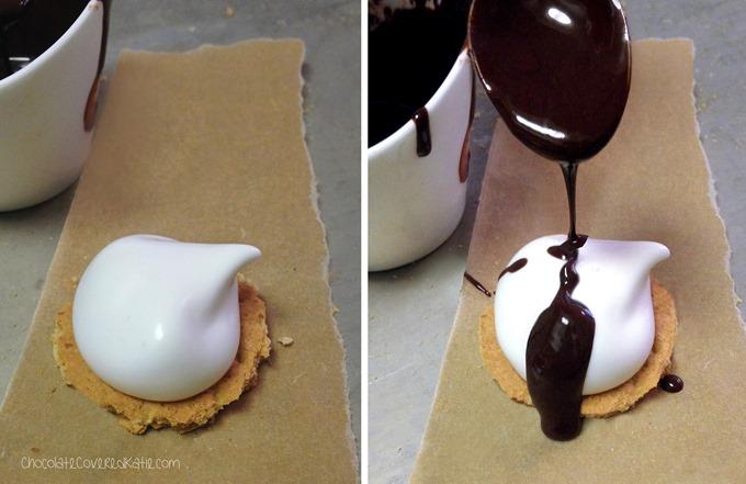 healthy mallomars http://chocolatecoveredkatie.com/2015/05/14/homemade-healthy-mallomars/