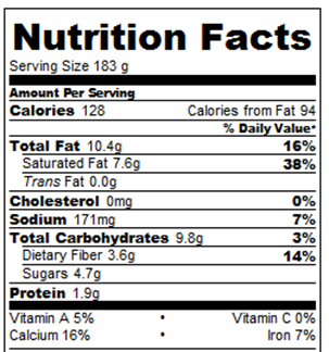 Hot Chocolate on a Stick: Calories and Nutrition Facts – Chocolate ...