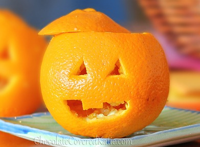 Orange Jack O Lanterns