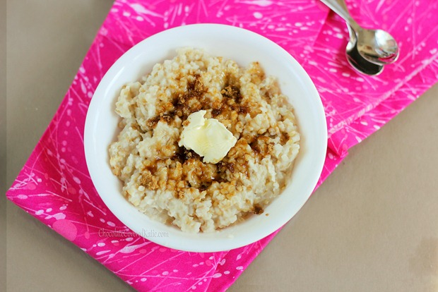 How to make oatmeal in the crock pot- the easy way.