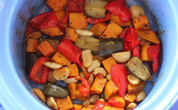 slow cooker vegetables recipe