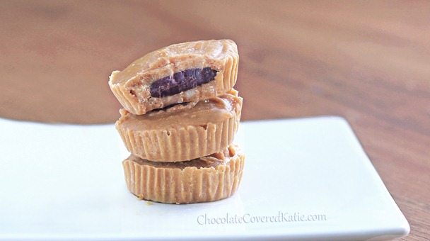 Inside Out Chocolate Peanut Butter Cups