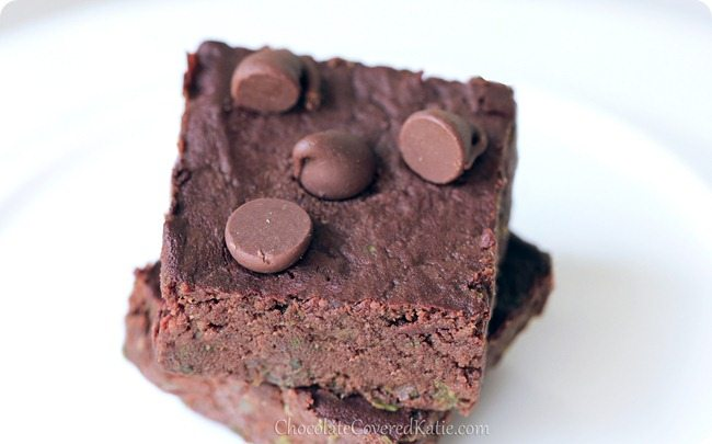 Kale Brownies? If you're feeling adventurous, give these brownies a try. They just might surprise you! http://chocolatecoveredkatie.com/2013/08/08/kale-brownies/