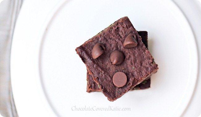 kale fudge brownies