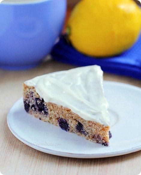 Lemon Blueberry Yogurt Cake – Chocolate Covered Katie