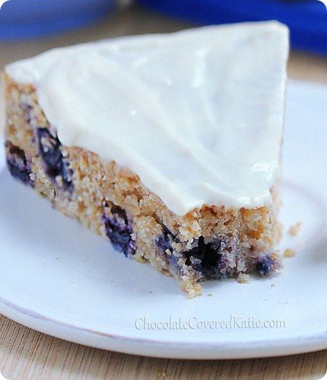 Lemon Blueberry Yogurt Cake