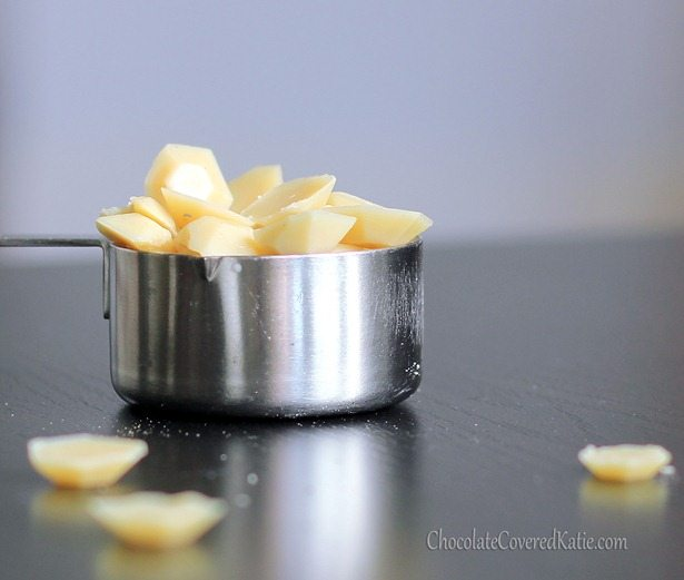 How to make your own white chocolate.
