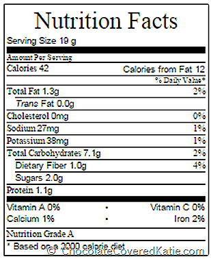 cinnamon rolls nutrition facts
