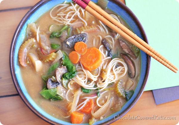 Miso Vegetable Soup