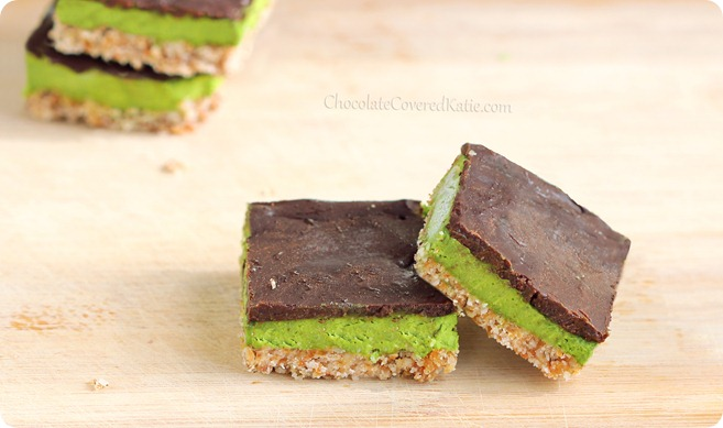 Mint Chocolate Chip Nanaimo Bars