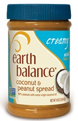 luna earth balance peanut butter