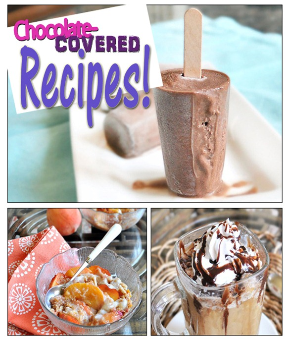 chocolate covered recipes