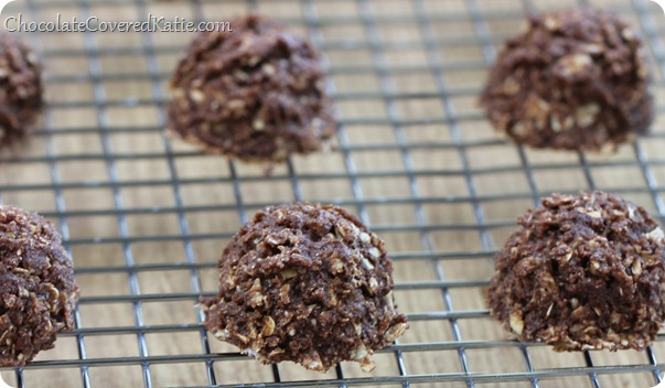 No Bake Chocolate Cookies