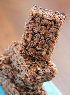 chocolate rice krispy treats