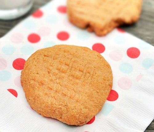 healthy peanut butter cookie