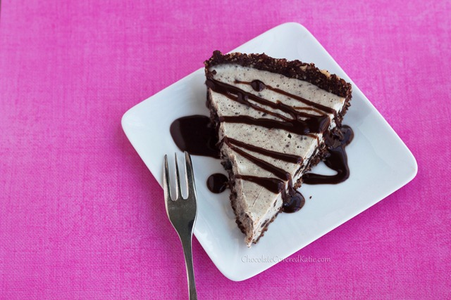 oreo cream pie - no baking required