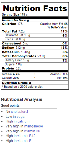 Pb Rice Pudding Nutrition Facts Chocolate Covered Katie