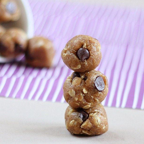 peanut butter cookie dough ball