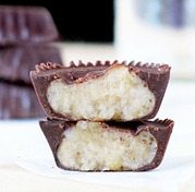 reeses peanut butter cups-- healthy makeover!