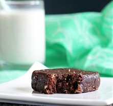 thin mint brownies