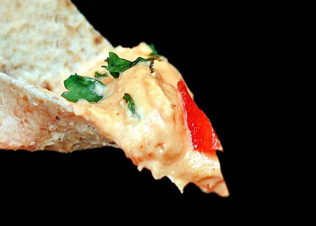 Pizza Hummus Dip