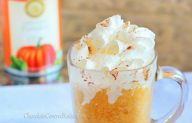 Pumpkin Frappuccinos