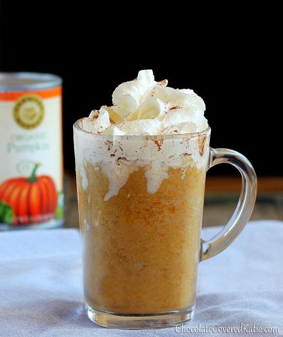 Copycat Pumpkin Frappuccinos!