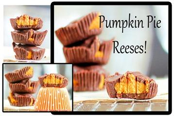 Pumpkin Pie Reeses Peanut Butter Cups!