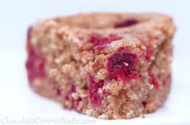 Raspberry Breakfast Cake