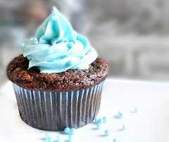 Blue Velvet Cupcakes: https://chocolatecoveredkatie.com/2011/05/16/blue-velvet-cupcakes/