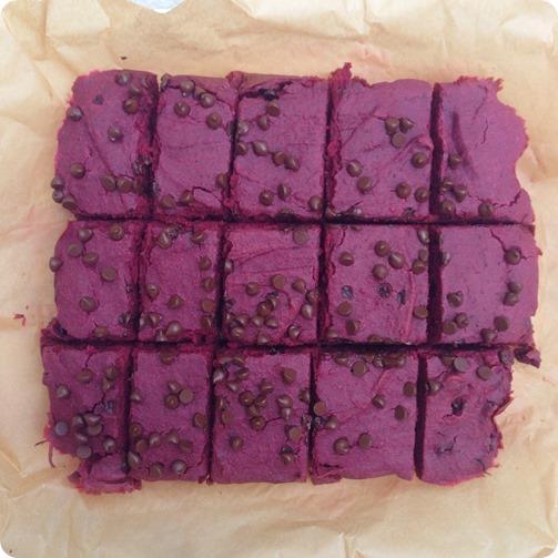 Fudgy Chocolate Beet Brownies: http://chocolatecoveredkatie.com/2014/05/09/red-velvet-brownies/