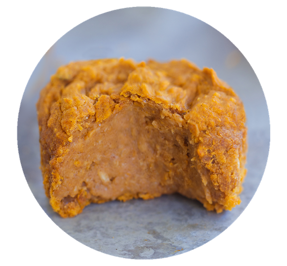 vegan pumpkin muffin