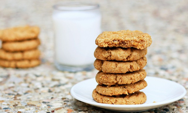 How about a whole stack of vegan peanut butter cookies? Mmm yes, that ...
