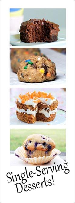 single serving desserts!
