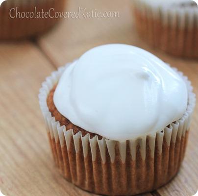 Marshmallow Sweet Potato Cupcakes