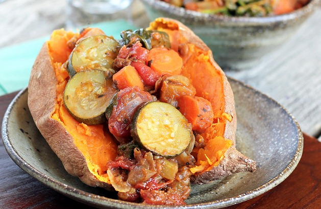 sweet potato dinner