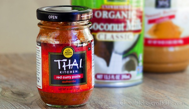 Thai Coconut Peanut Butter Curry