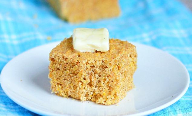 healthy cornbread http://chocolatecoveredkatie.com/2012/01/18/totally-addictive-cornbread/